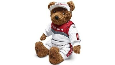 New Genuine Audi Motorsport Teddy Bear Sport Collection S Rs S3 S4 S5 S6 Rs3 Rs4