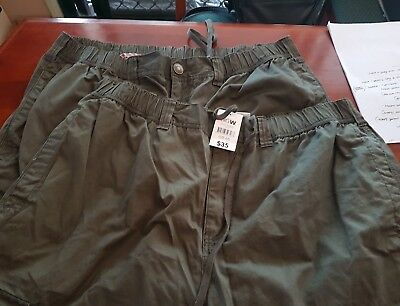 Men's Size 6 XL Bulk Clothes Long Pants x 2