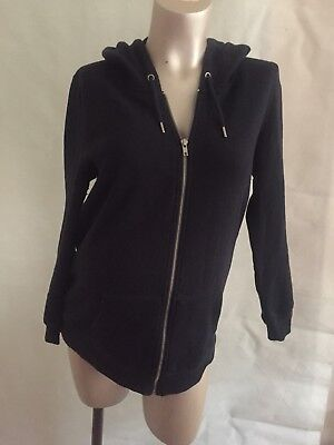[528] New Look Maternity Blue Long sleeved Hoodie Cardigan / Top Size 12