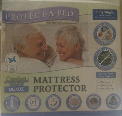 King Single Protecta Bed Mattress Protector.- Overstocked Make an Offer