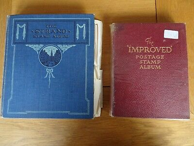 2 X Stamp Albums World Wide approx 2,400 stamps. (2)