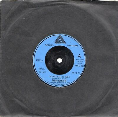 "SHOWADDYWADDY - YOU GOT WHAT IT TAKES - 70's - 7"" VINYL"