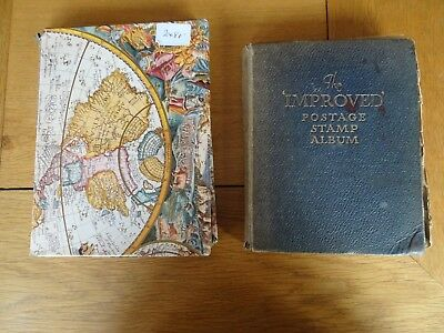2 X Stamp Albums World Wide approx 3,500 stamps. (4)