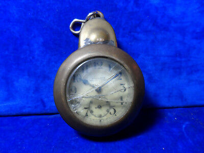 Antique Railwayana / Colliery Coal Miner Pit Workers Pocket Watch Protector Case