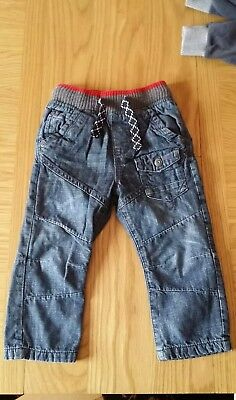 baby boys next jeans age 18-24 months excellent condition