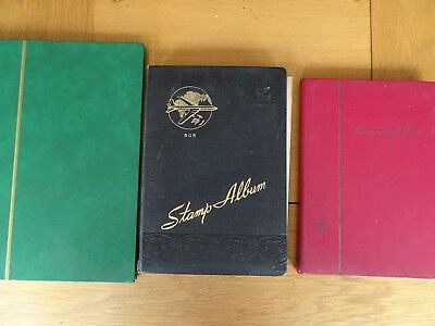 3 X Stock Books World Wide approx 1,900 stamps.
