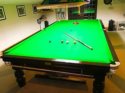 Full Size Steel Block Snooker Table