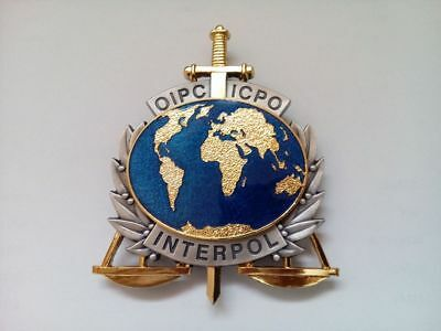 INTERPOL - Personal ID Badge