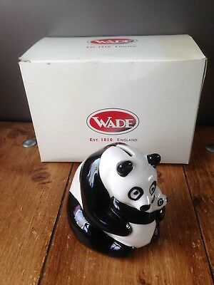 Lovely Wade Natwest Panda Bear & Cub Money Box With A Wade Box - Pig Interest