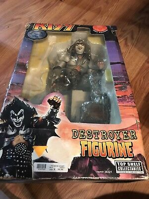 KISS Gene Simmons Destroyer Action Figure Large With Box 2002