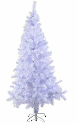Luxury White Traditional Indoor Artificial Christmas Xmas Tree 4,5,6,7,8FT