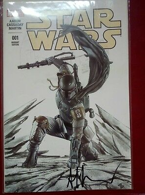 Star Wars Comic Issue #1, rare variant, signed by Adi Granov. Mint Condition.