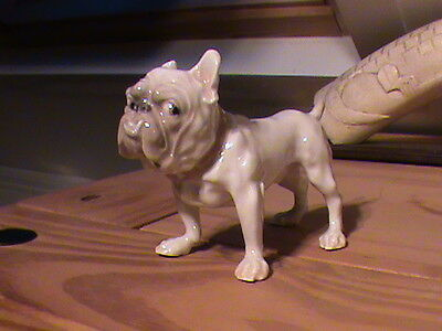 Bing & Gröndahl copenhagen Bulldog Sculpture Dog Porcelain Figurine