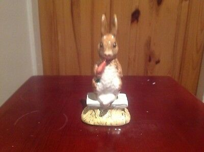 Bsweick Beatrix Potter figure, Fierce Bad Rabbit, great condition.