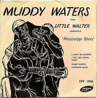 RARE BLUES EP Muddy Waters w/ Little Walter (Vogue EPV1046) (1955)