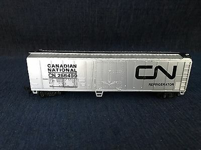 HO Canadian National 50' Refridgerated Silver Box Car #286499