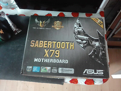 ASUS SABERTOOTH X79, Socket 2011, Intel Motherboard