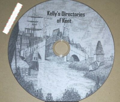 Kelly's Directory Kent 5 Volumes transferred from original books to Pdf