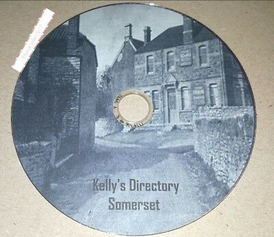 Kelly's Directory Somerset 5 Volumes transferred from original books to Pdf