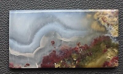 Agate paysage 30.7 carats - Natural moss agate Indonesia