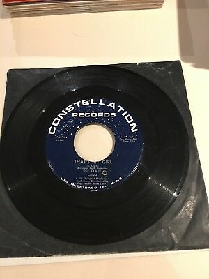 Rare Northern Soul - Dee Clark - That's My Girl -Constellation 120