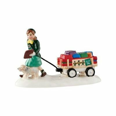 New Dept56 Girl Scout Cookie Time