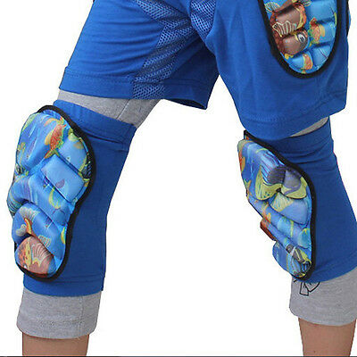 1 Pair Kid Adult Skiing Snowboard Skating Foam Knee Pads Sport Padded Protectors