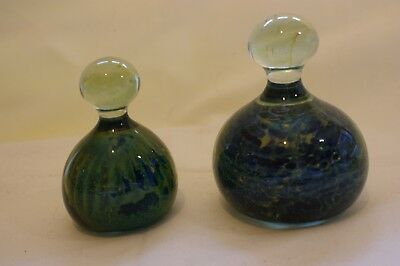 2 Mdina Glass Paperweights