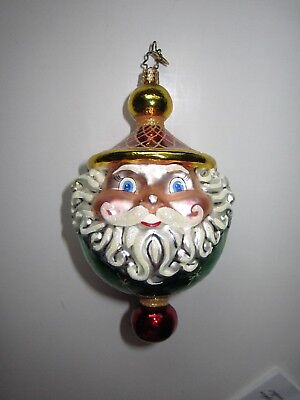 "Christopher Radko Christmas Ornament--""Chubby Cheerdrops"""