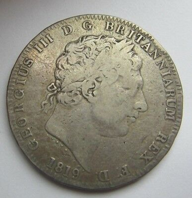 George Silver Crown 1819
