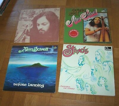 Alan Stivell: 4 LPs: E Langonned, Before Landing,…  (1973)