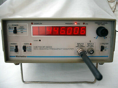 Black Star Meteor  600 frequency counter 5hz to 600mhz