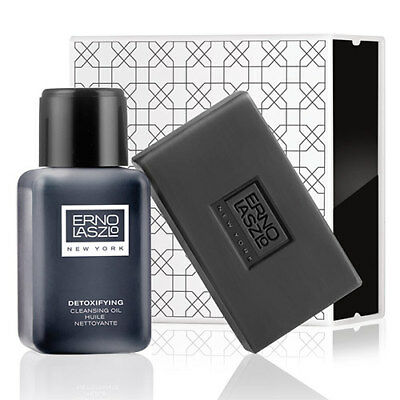Erno Laszlo: Detoxifying Cleansing Set - Sea Mud Deep Cleansing Bar + Detoxifyin