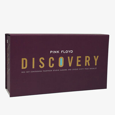 Pink Floyd Discovery 14 Studio Albums 16 CD Box Set Collection