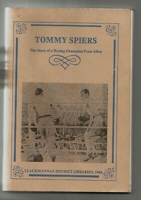 Boxing Book , Tommy Spiers ,