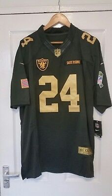 Marshawn Lynch Oakland Raiders Nfl Jersey -  New With Tags - Size Xxl
