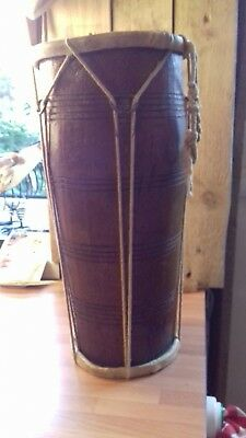 Vintage Congo Double Ended Drum.