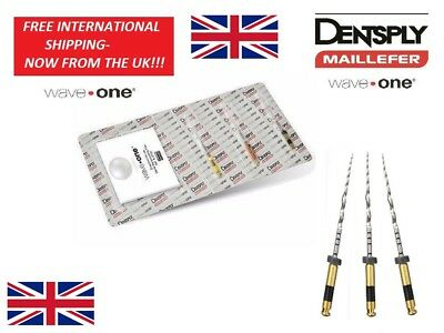 Dental Reciproc files waveone dentsply ENDO M-WIRE 25mm- NOW IN THE UK!!