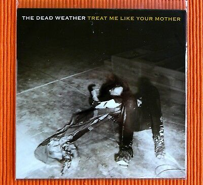 "THE DEAD WEATHER ‎– TREAT ME LIKE YOUR MOTHER TMR 7"" Single Jack White NEW"