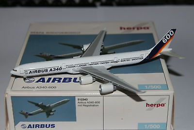 Herpa Wings Airbus Industries Airbus A340-600 1:500 OVP NG