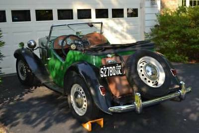 1958 MG T-Series  1958 MGTD~~ ORIGINAL RUST FREE ROADSTER~~ Restored and In Nice Shape