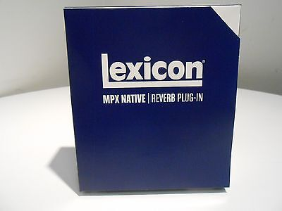 Lexicon Mpx Native-Reverb Plug-In  (Factory Sealed)