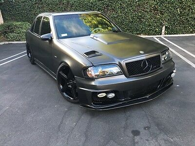 """1997 Mercedes-Benz C-Class AMG C36 700HP twin turbo authentic C36 custom 19"""" Whls Brembo brakes everything new c36"""