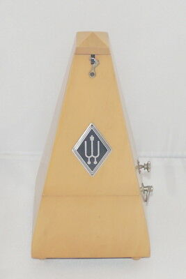 Wittner wooden Metronome with bell - natural Wood - Maple made in germany