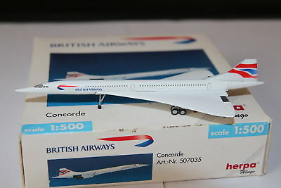 Herpa Wings British Airways Concorde 1:500 OVP