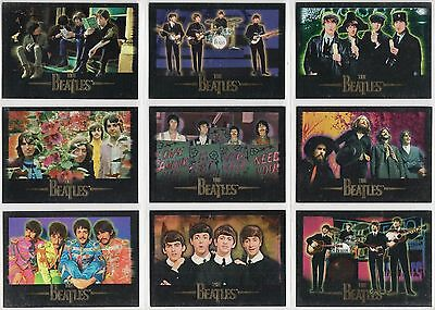 BEATLES LENNON McCARTNEY HARRISON STARR 1996 SPORTS TIME 9 CARD LOT NICE