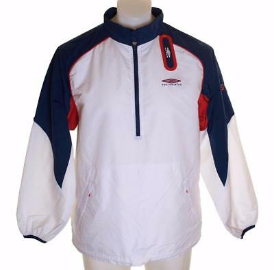Bnwt Men S Umbro Pro Training Tracksuit Top Hooded Jacket Medium 38