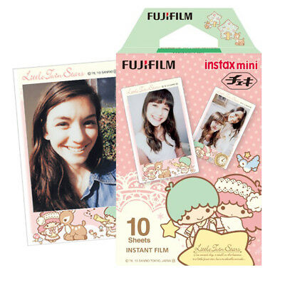 Fujifilm Instax Mini Little Twin Stars Film 10 Photo - Fuji 7s 8 9 50s 70 Camera