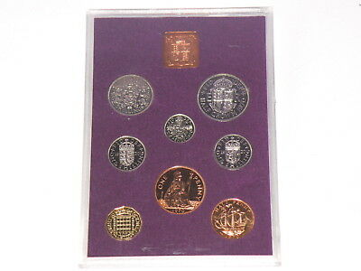 1970 G.B. & N.I. PROOF COIN SET - 8 Coins - HALFCROWN to HALFPENNY COINS