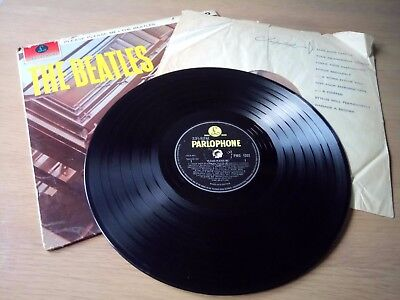 The Beatles Please Please Me Complete Original Uk Mono Lp